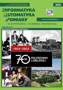 Okładka czasopisma Informatyka, Automatyka, Pomiary w Gospodarce i Ochronie Środowiska